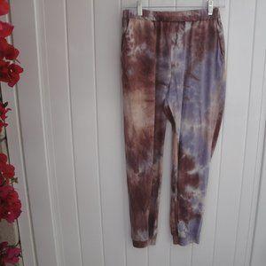 Forever 21 Tie Dye Knit Pants  Knit Pants M